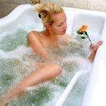 Афродита из пенистой ванны